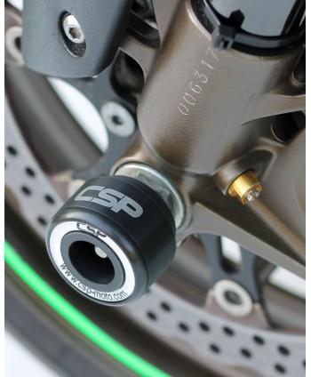 Kawasaki ZX-10R 2006-2007 crash pady przedniego zawieszenia CSP